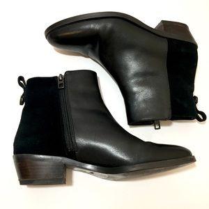 Coach Carmen Bootie Black Leather Ankle Boots 7